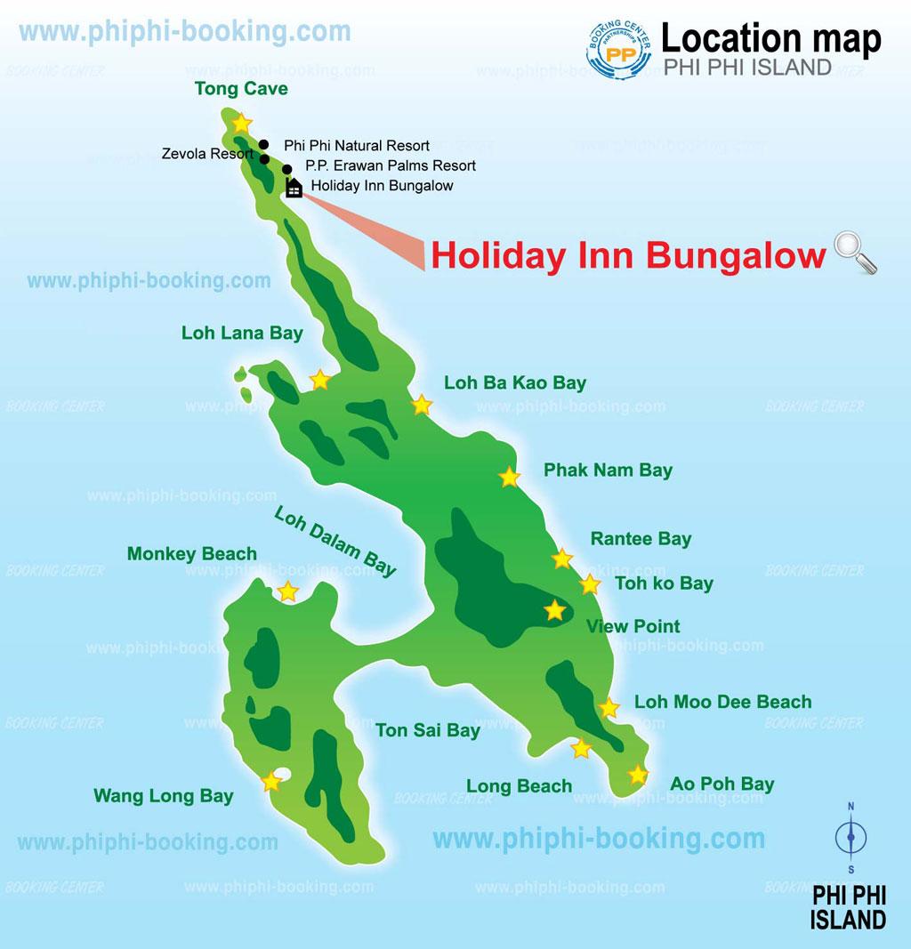 Phi Phi Island Cabana Hotel: Holiday Inn Phi Phi Resort Phi Phi Island In Phi Phi Thailand